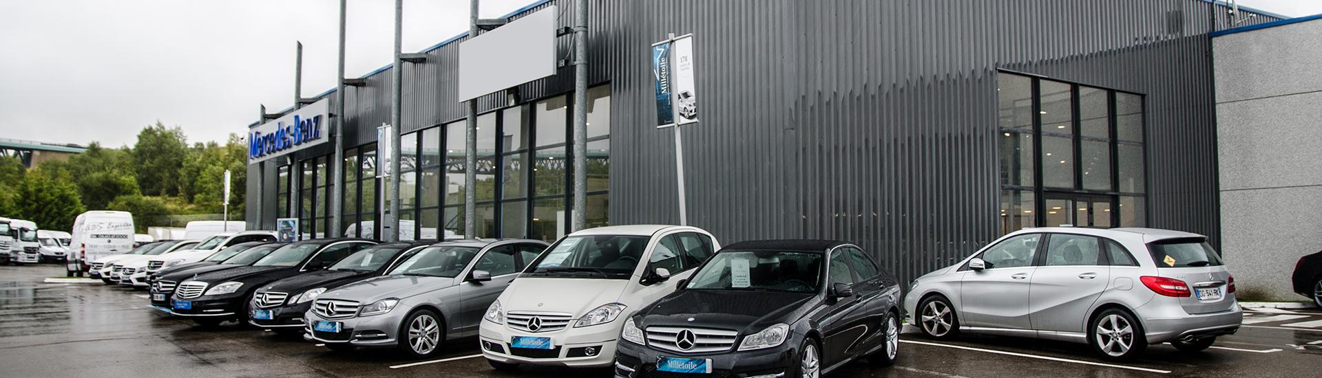 Concession SAGA Mercedes-Benz située à Boulogne-sur-mer à Isques.
