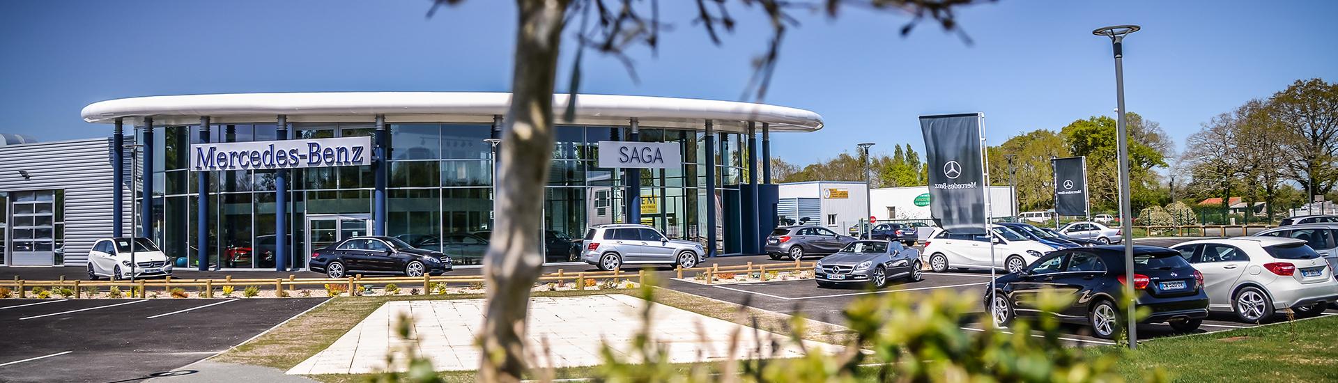 SAGA Mercedes-Benz Challans à Sallertaine