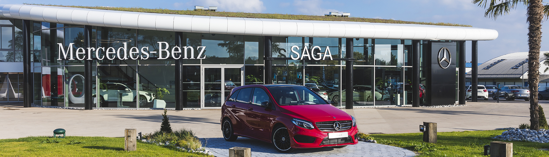 Nouvelle concession SAGA Mercedes-Benz à Dunkerque.