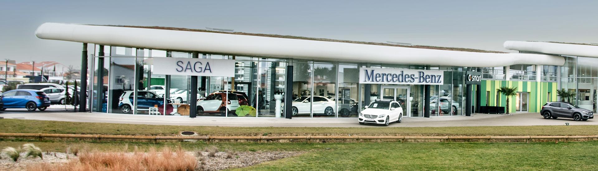 Concession SAGA Mercedes-Benz aux Sables d'Olonne