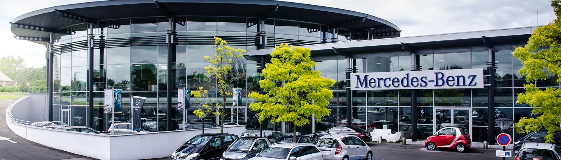 Concession SAGA Mercedes-Benz situé à Villeneuve d'Ascq - Lille