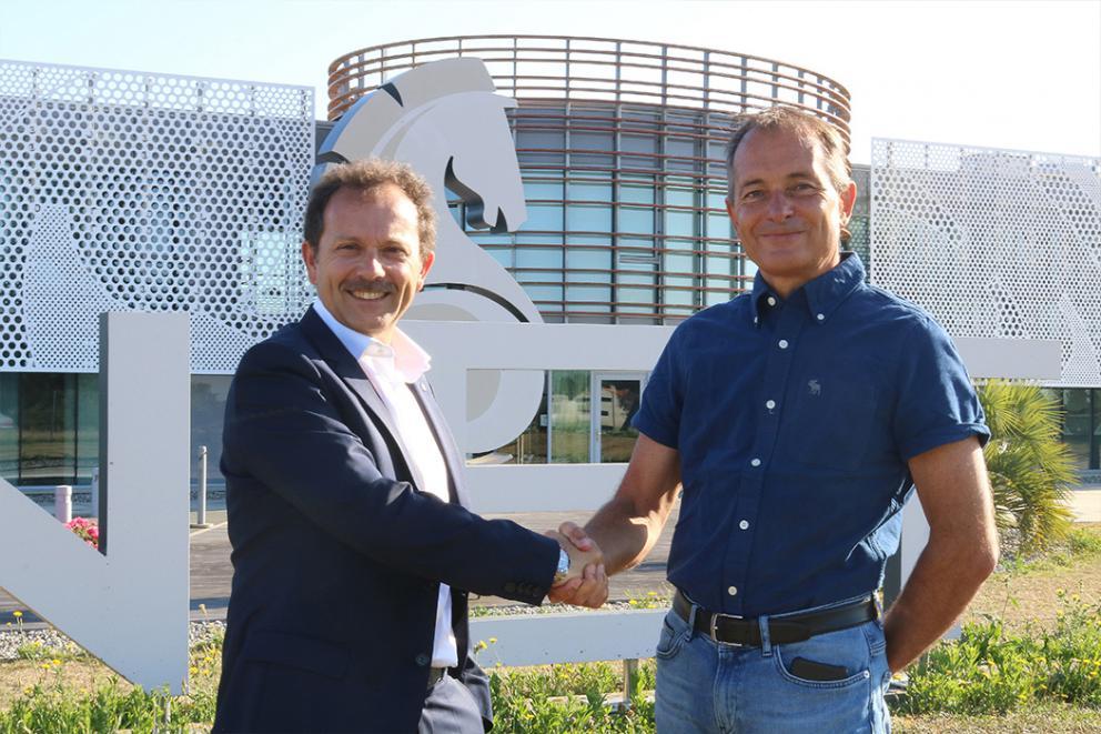 Nouveau projet pour BENETEAU et RCM | Luca Brancaleon, Directeur Général Bénéteau & Ronan Chabot PDG RCM.