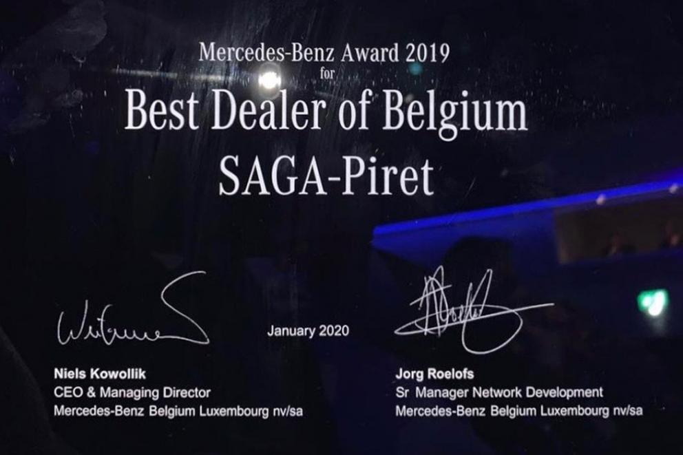 RCM reprend la concession Mercedes-Benz de Charleroi à Sogalux | SAGA PIRET AWARD