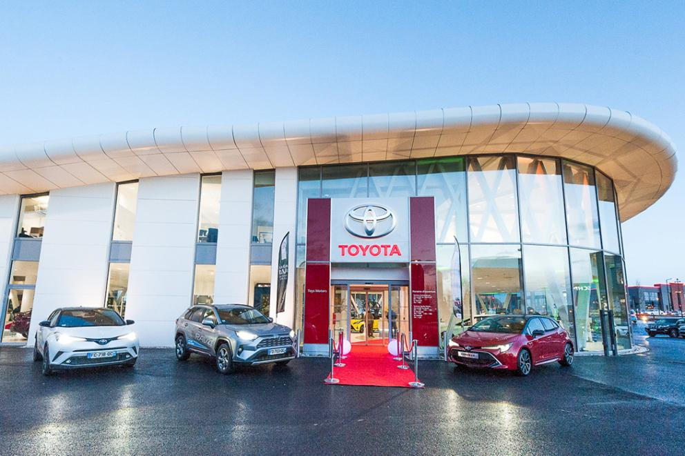 Opening of Toyota Toys Motors Valenciennes