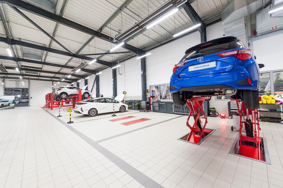Ouverture Toyota Toys Motors Valenciennes