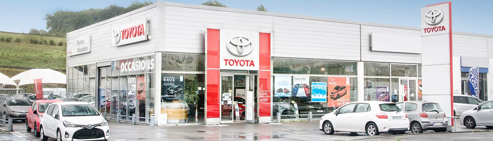 Concession TOYOTA Toys Motors à Boulogne-sur-mer (62).