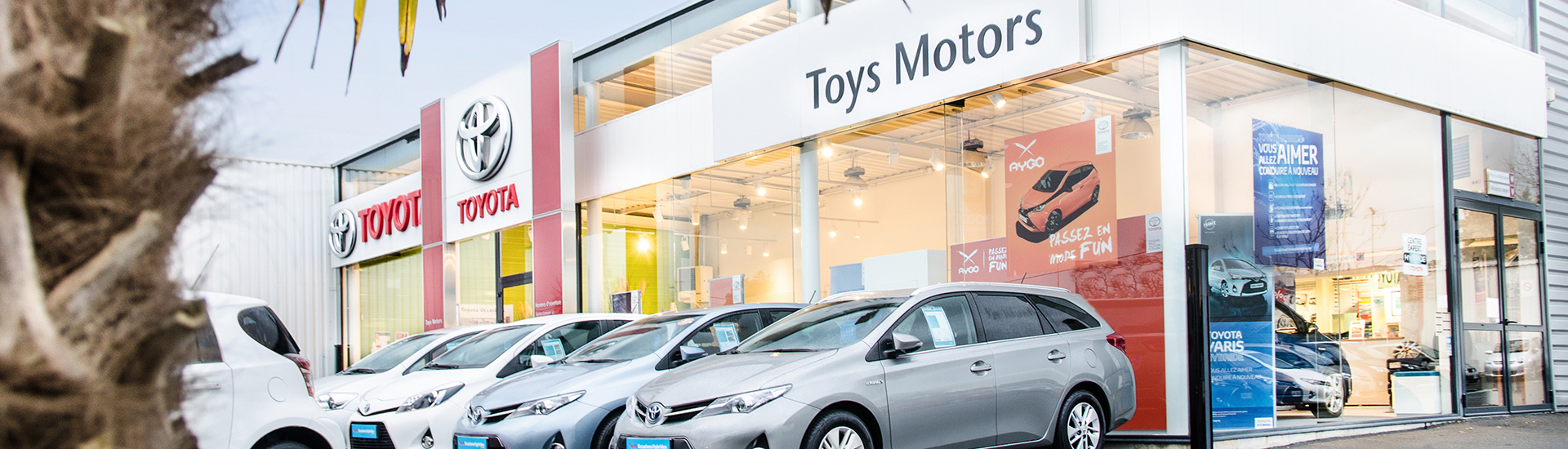 Toyota Toys Motors à Challans en Vendée (85).