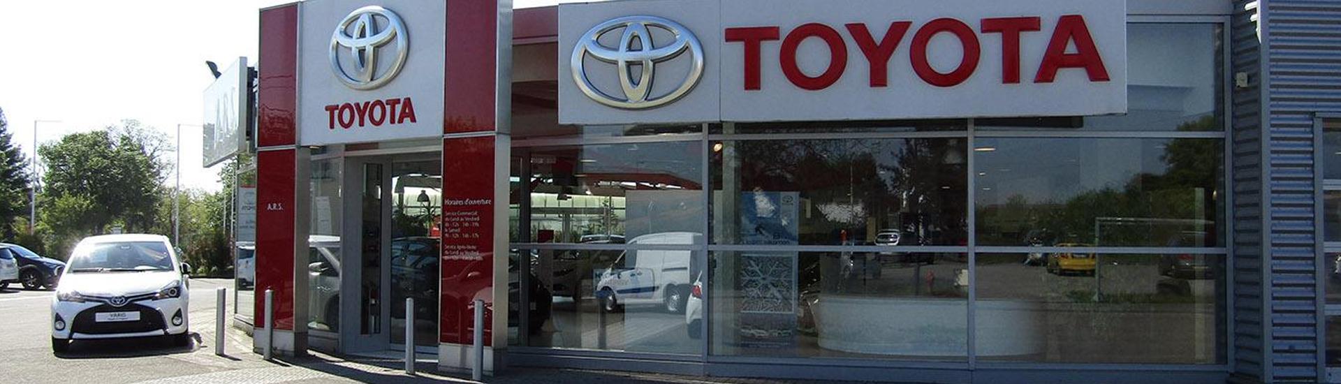 Concession TOYOTA Toys Motors à Haguenau en Alsace (57).