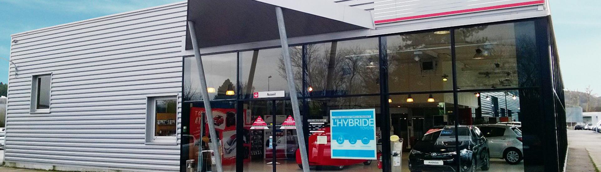 Concession TOYOTA Toys Motors à Pont-Audemer dans l'Eure (27).