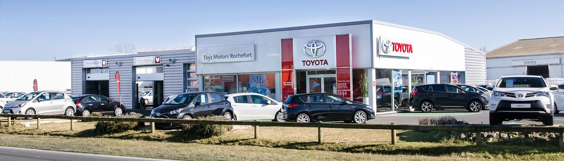 Concession TOYOTA de Rochefort en Charente-Maritime (17).
