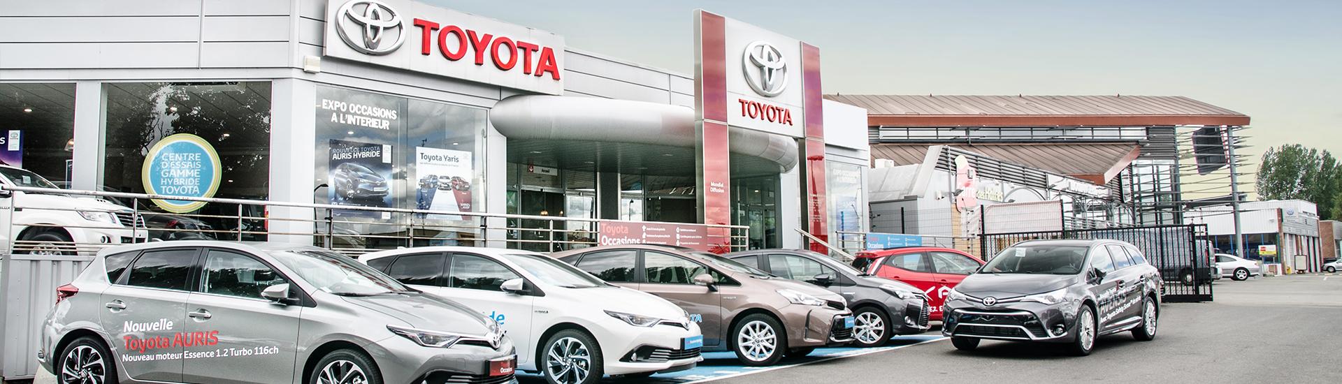 Concession TOYOTA Toys Motors à Roncq dans le Nord (59).
