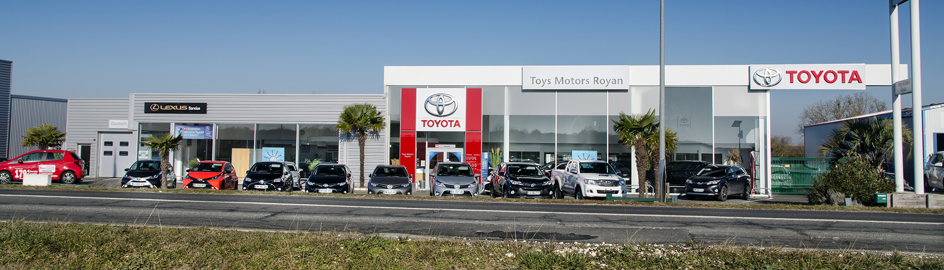 Concession TOYOTA Toys Motors à Royan en Charente-Maritime (17).
