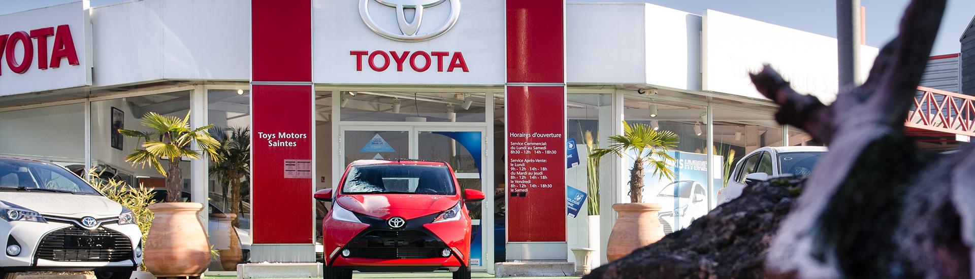 Concession TOYOTA Toys Motors à Saintes en Charente-Maritime (17).