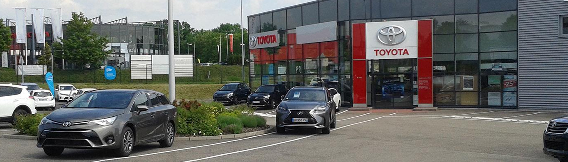 Concession TOYOTA Toys Motors Saverne.