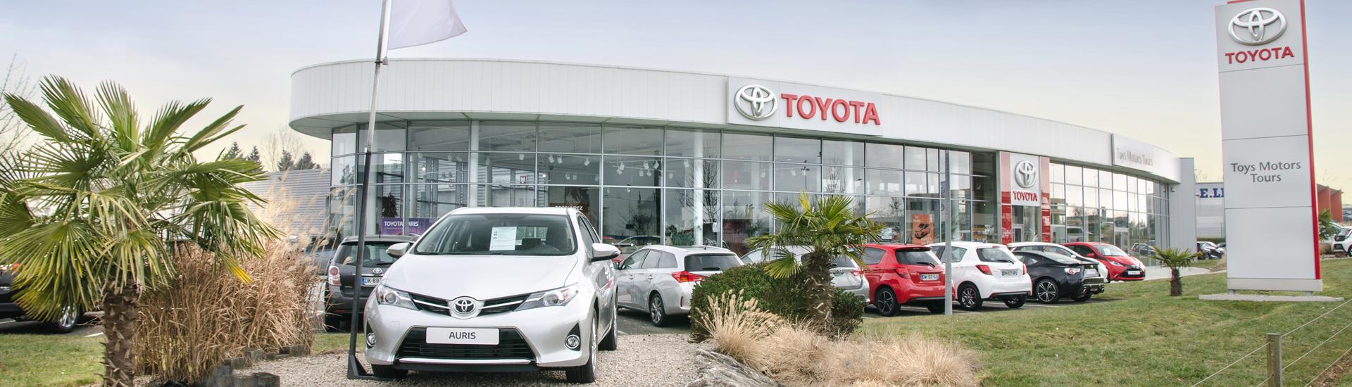 Concession TOYOTA Toys Motors à Tours en Indre-et-Loire (37).
