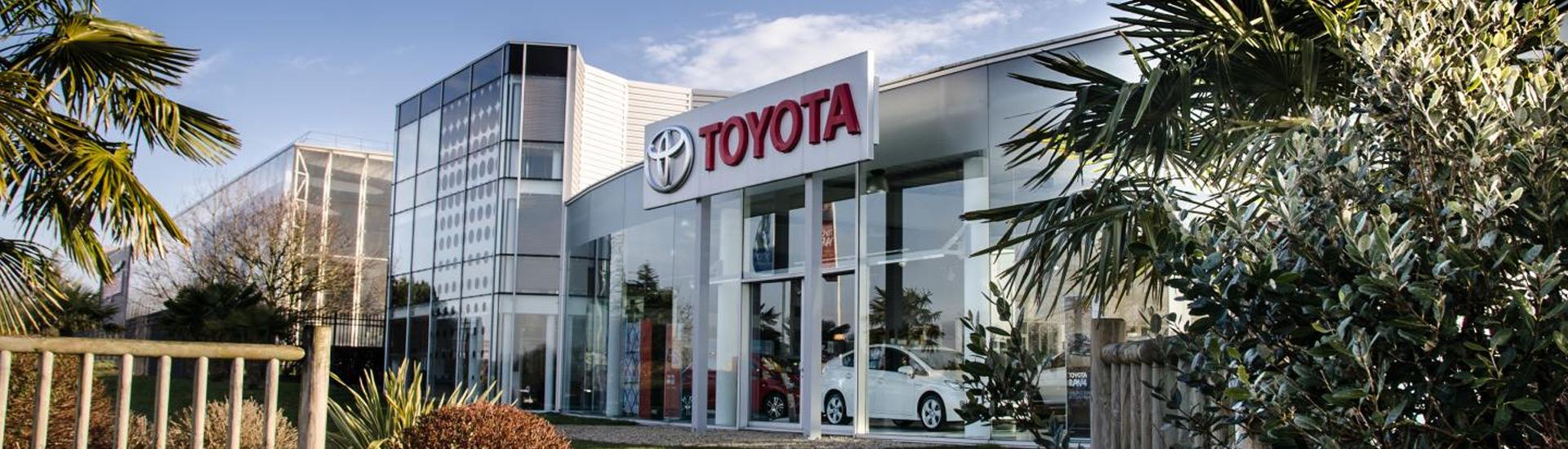 Concession Toyota Toys Motors La Roche-sur-Yon