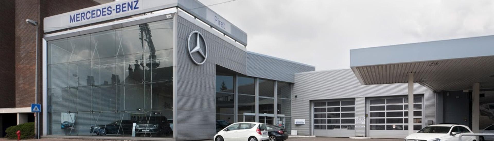 Concession Mercedes-Benz SAGA-Piret à La Louvière